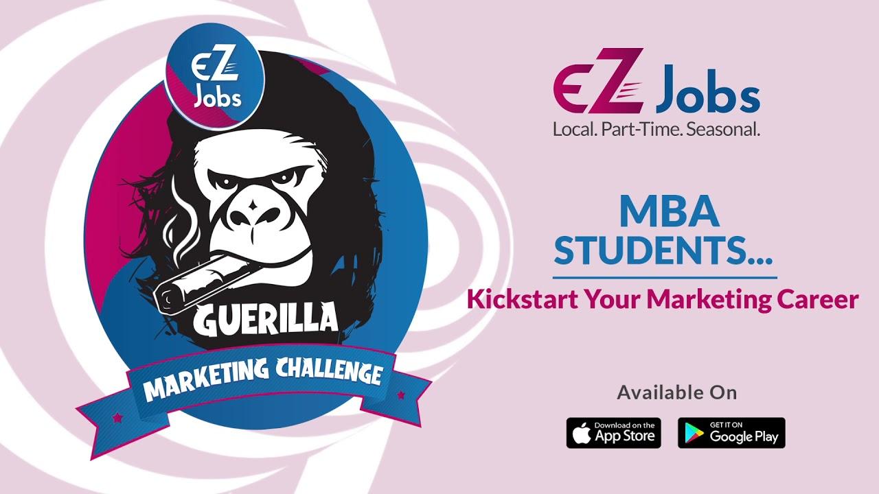 EZJobs Guerilla Marketing challenge Tickets by Upasana, 29 Sep, 2019,  Hyderabad Event