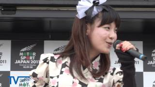 りんご娘も登場「けっぱれスマートドライバー」イベント.