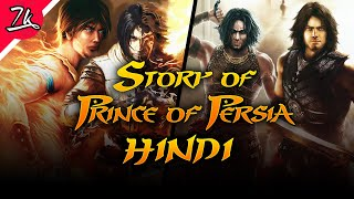 Complete Story of Prince of Persia in Hindi (SOT,FS,WW,T2T)