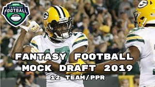 2019 Fantasy Football Mock Draft (PPR)- 12 Team- Pick 5