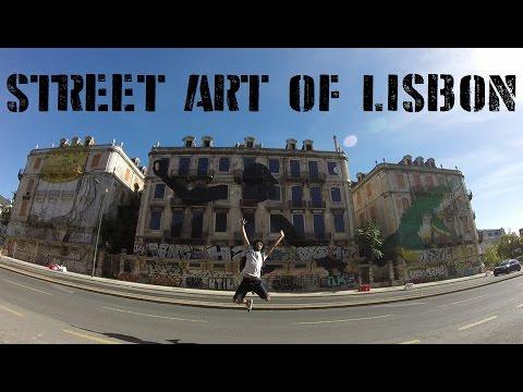 Street Art of Lisbon (Vlog #27)