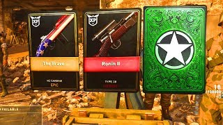 6 DLC WEAPONS in 1 OPENING.. HEROIC SUPPLY DROP OPENING (COD WW2 BLITZKRIEG DLC EVENT)