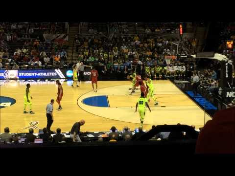 Baylor Bear Basketball Cory Jefferson Impossible To Defend Move and Jump Shot 2014