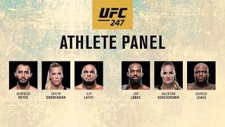 UFC 247: Athlete Panel