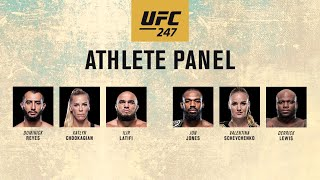 UFC 247: Athlete Panel on FREECABLE TV