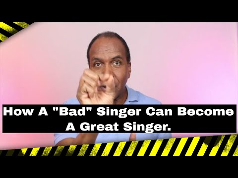 """How A """"Bad"""" Singer Can Become A Great Singer - Roger Burnley Voice Studio"""