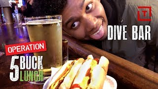 The Best Cheap Dive Bar in NYC || 5 Buck Lunch