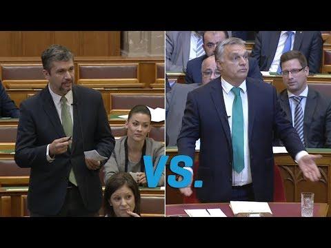 Orbán Viktor rágalmaz és toporzékol válasz helyett (LMP - Politika)