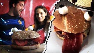 Le Durrr Burger de Fortnite dans la vraie vie !