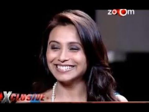 Rani Mukerji's most exclusive interview with zoOm