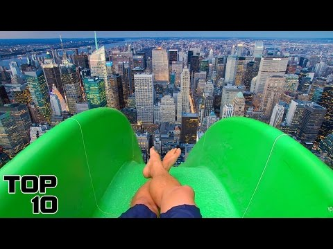Thumbnail: Top 10 Crazy Illegal Water Slides