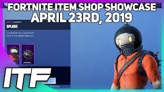 Fortnite Item Shop *NEW* SPLODE SKIN! [April 23rd, 2019] (Fortnite Battle Royale)