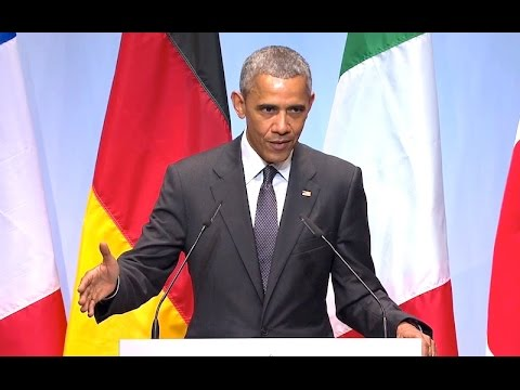 The President Speaks at the G7 Summit in Germany
