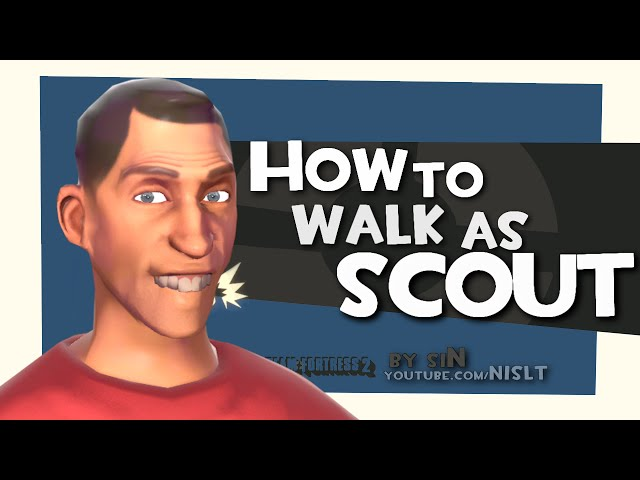TF2: How to walk as scout