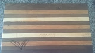 Custom Edge Grain Cutting Boards Part 3