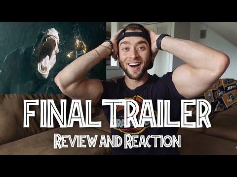 Jurassic World 2 - FINAL TRAILER: REVIEW & REACTION