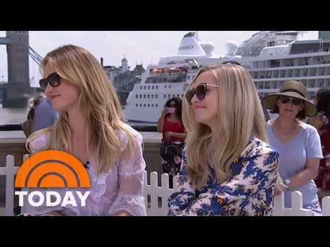 Amanda Seyfried And Lily James Talk 'Mamma Mia! Here We Go Again'  TODAY