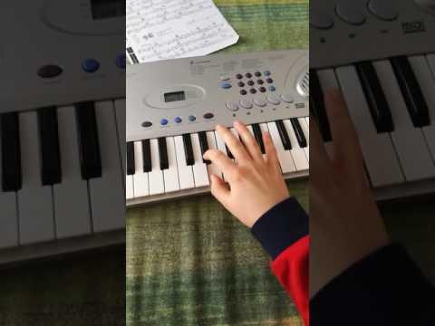 Come suonare la pantera rosa su tastiera