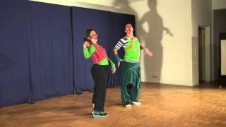 Tamala Clown Akademie - Werkstatt Aufführung 2014 Ausschnitte