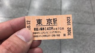 Jose's Japan Trip 2017 #3a - How To Use A Platform Ticket For Trains In Japan 入場券