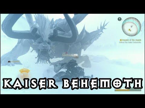 Episode Prompto - White Kaiser Behemoth! An Emperor Deposed Trophy! Final Fantasy XV