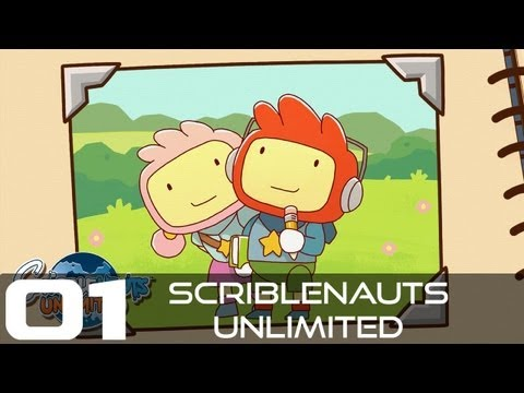 Scribblenauts Unlimited en pareja 01 - El robot cafeinómano