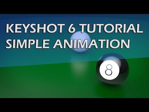 KEYSHOT 6 TUTORIAL - SIMPLE ANIMATION