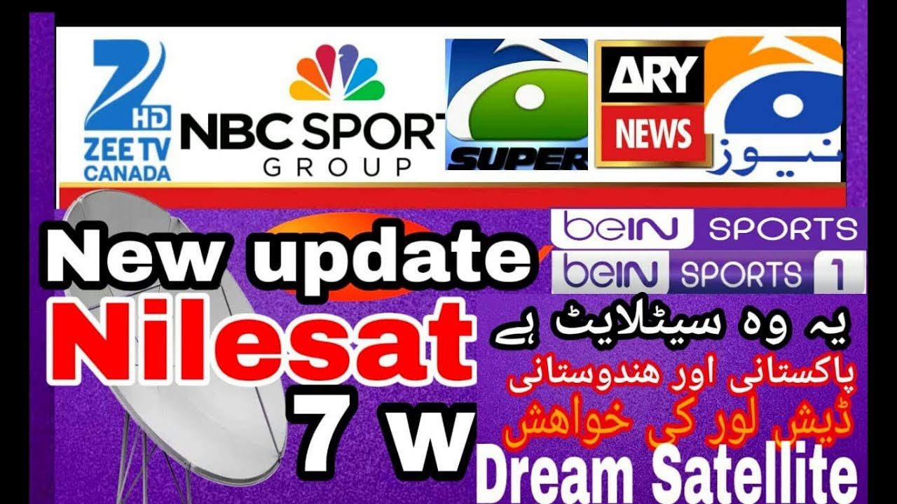 Nilesat 7W latest channels list 2019 || forever server & c line cheking