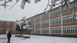 Средняя школа им. Н.К. Крупской в с. Эски-Наукат
