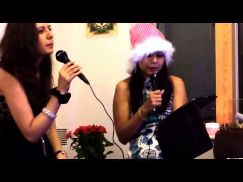 Brit Asian Top of the Pops London Girls Singing Karaoke