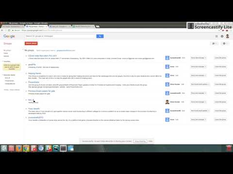How to view members in your gmail group