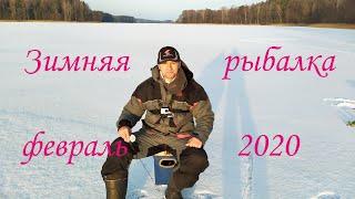 Зимняя рыбалка 2020 Ловля окуня на балансир и блесну в феврале 2020 Безнасадочная мормышка