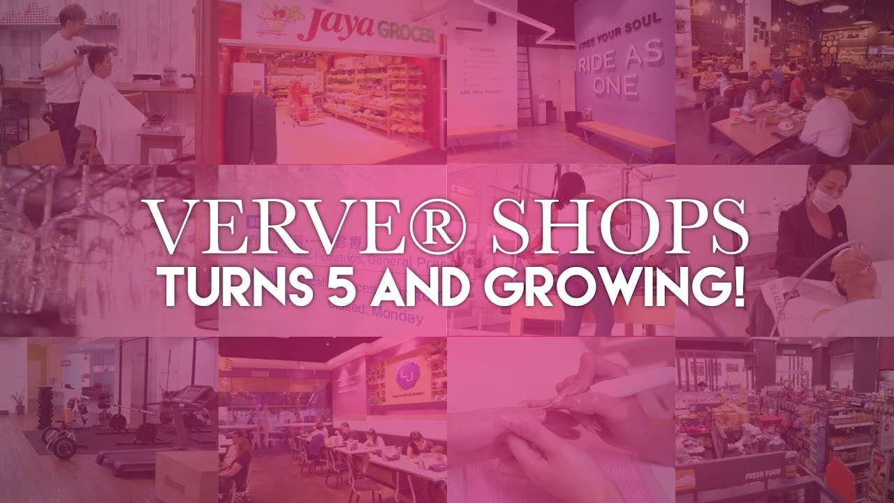 VERVE® Shops Turns 5 and Growing!
