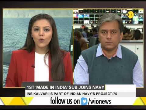First 'Made In India' sub joins Navy