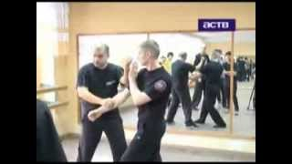 Сюжет на ТВ о семинаре Вин Чун (TV channel about Wing Chun seminar)