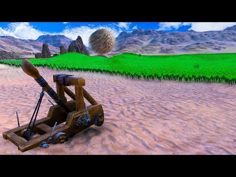 250,000 ZOMBIES vs. 1 CATAPULT! (Ultimate Epic Battle Simulator #2)