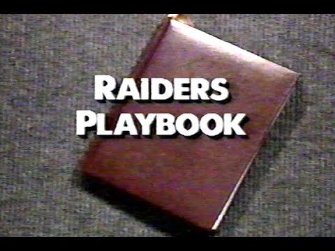 Raiders Playbook - Special news report on the 1989 Raiders - Bo Jackson