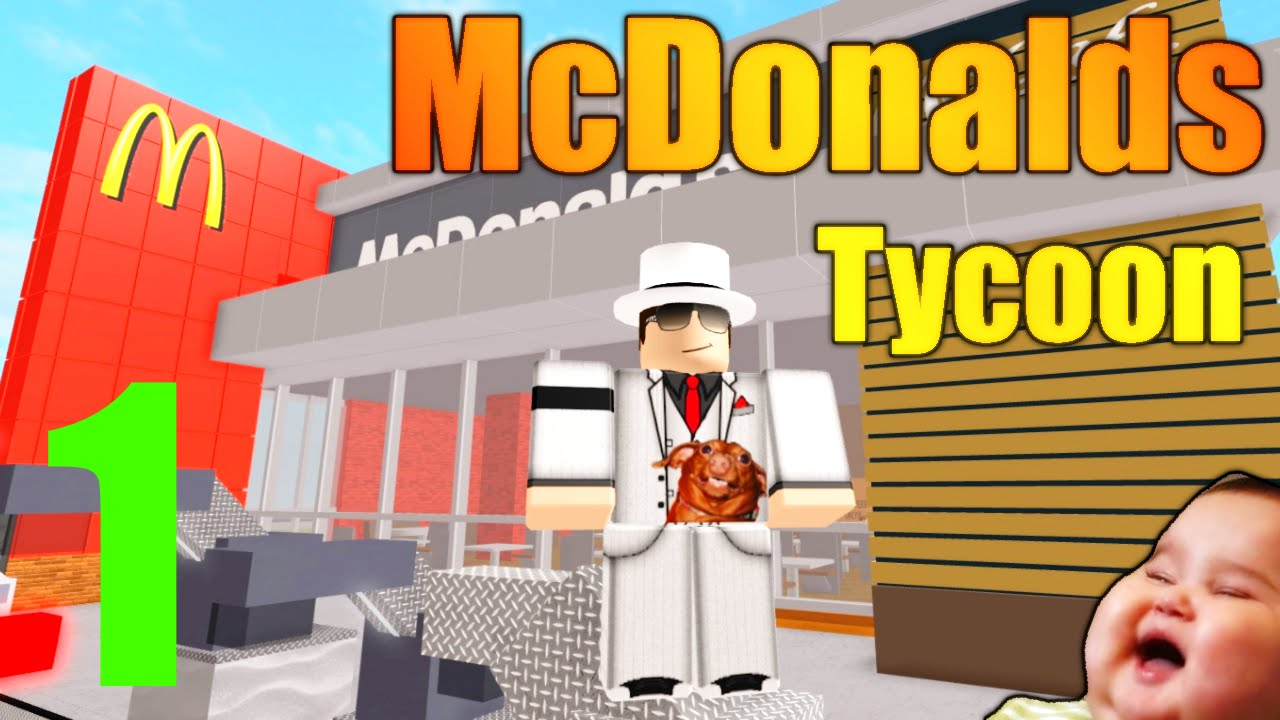 roblox mcdonalds tycoon lets play ep 1 our own obesity center youtube. Black Bedroom Furniture Sets. Home Design Ideas