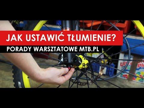 Porady MTB.pl: Ustawianie zawieszenia: tłumienie (rebound)