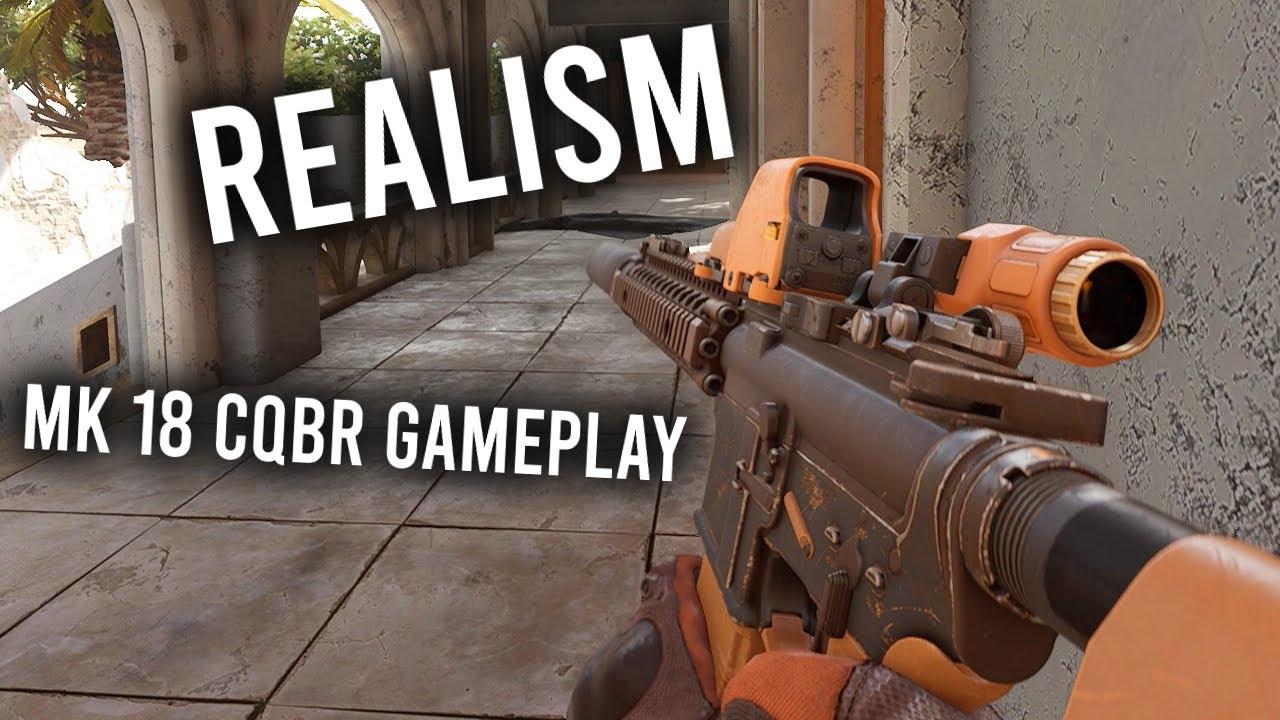 INSURGENCY SANDSTORM - MK18 CQBR Gameplay ( BRUTAL REALISM/NO COMMENTARY/4K )