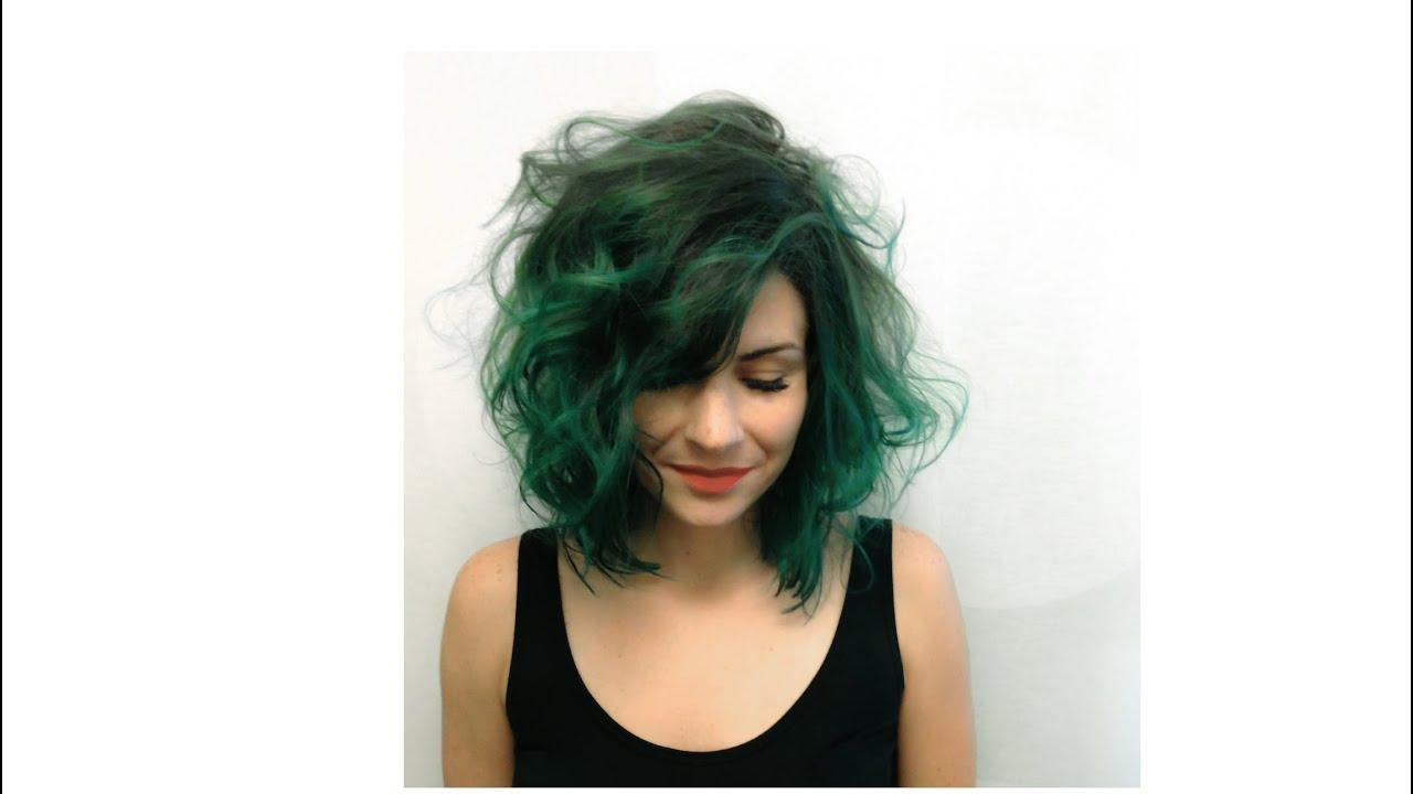 haircolor allison green
