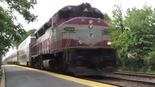 Railfanning at Wilmington - MBTA Commuter Rail