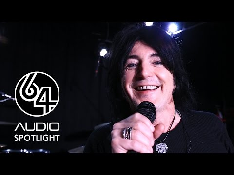 Phil Lewis from LA Guns hears the A12's
