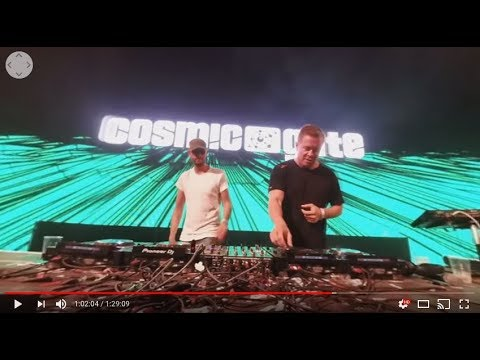 Cosmic Gate live at Sziget Festival 2017 (360° video)