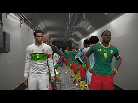 Cameroon Vs Algeria | FIFA World Cup 2018  Qualifiers | Full Match | Gameplay