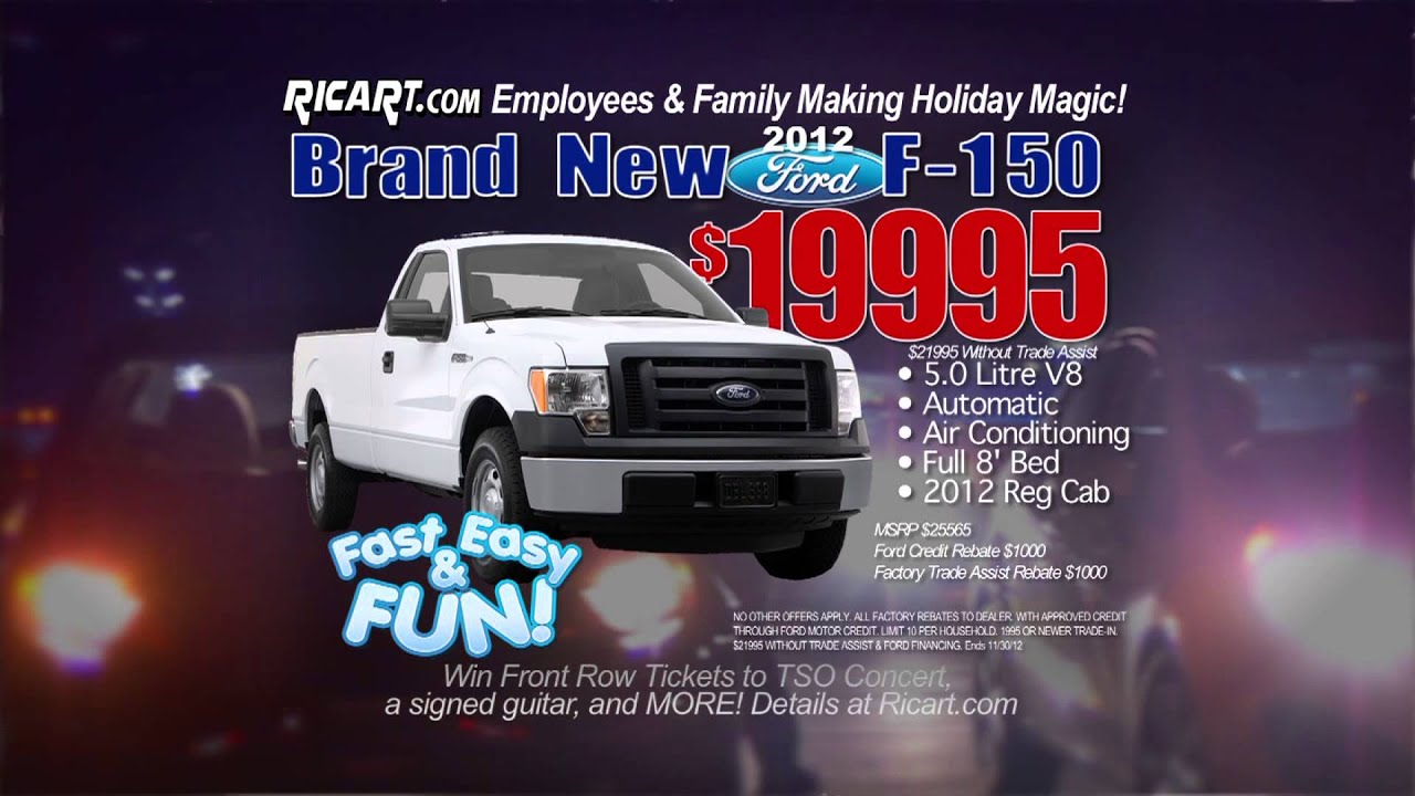 Ricart New And Used Ford Cars Or Trucks In Columbus Ohio