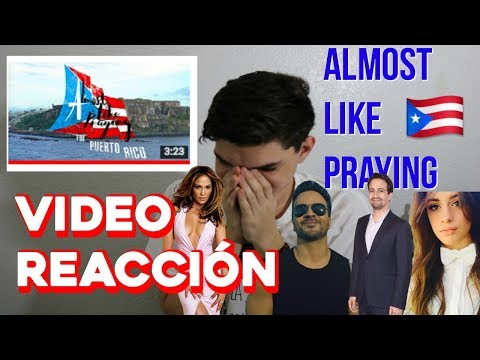 Reaccionando a Almost Like Praying De Lin Manuel Miranda y artistas(emocional)