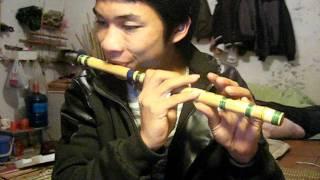 thổi sáo Câu hò bên bờ Hiền Lương