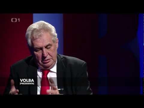 Rozhovor s nově zvoleným prezidentem České republiky Milošem Zemanem
