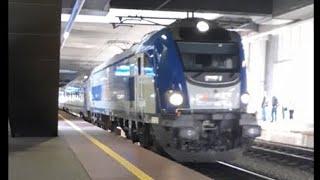 Pociąg IC ZAMENHOF na stacji PKP Poznań Główny